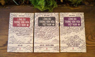 Bộ sách Lãng du trong văn hóa Việt Nam mới được NXB Kim Đồng ấn hành.