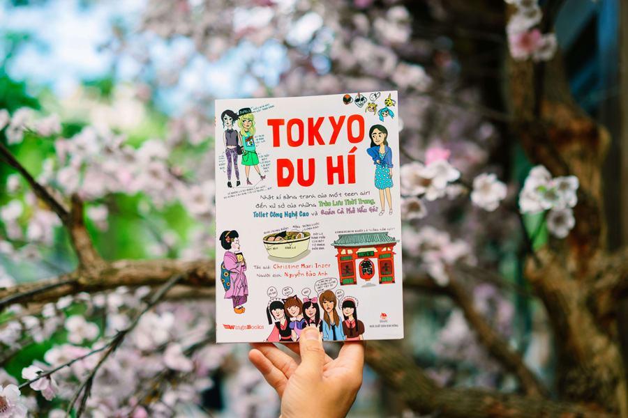 """""""Tokyo du hí"""" cuốn hút độc giả bởi những trải nghiệm độc đáo của tác giả Christine và những tranh minh họa sắc màu"""