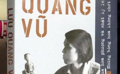 """""""Di cảo Lưu Quang Vũ"""" xuất bản năm 2008."""