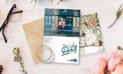 """""""Hẹn hò với Paris"""" là cuốn du ký về những hành trình mới của Trương Anh Ngọc, ngồn ngộn cảm xúc."""