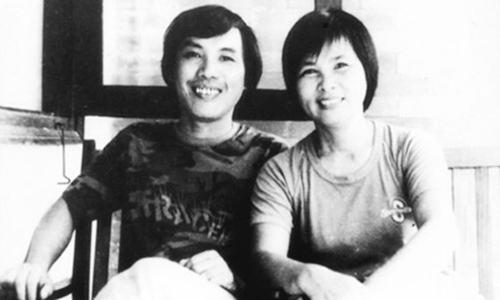 Vợ chồng nhà thơ Lưu Quang Vũ - Xuân Quỳnh.