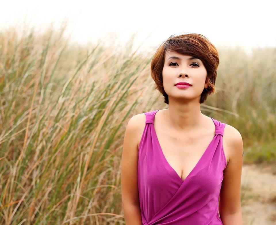 Nhà văn Nguyễn Quỳnh Trang.