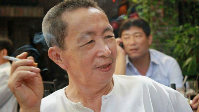 Nhà văn Dương Nghiễm Mậu.