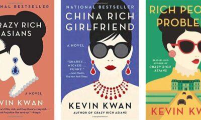 Series sách về giới siêu giàu châu Á của Kevin Kwan.