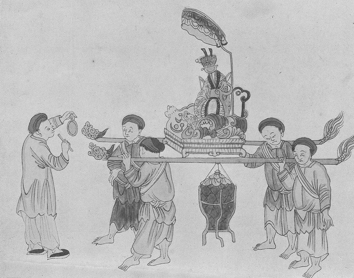 """Những phong tục tập quán của người Việt được Phan Kế Bính hệ thống lại và """"mổ xẻ"""" trong cuốn sách của ông."""