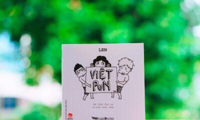 Sách Việt Pun của tác giả LEN (Đồng Nguyễn Thành Trung).