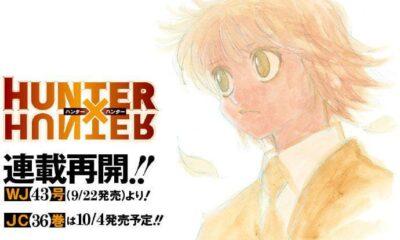 Hunter × Hunter chuẩn bị có tiếp các chương mới. Ảnh: Shueisha.