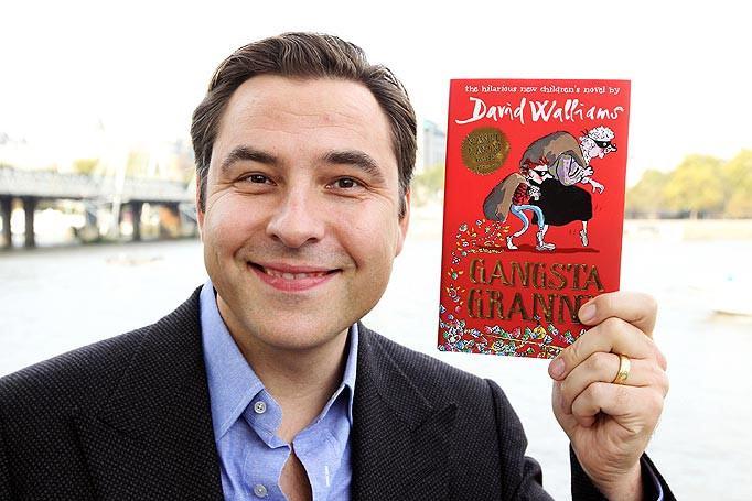 Nhà văn người Anh David Walliams. Ảnh:Tardis.wikia.com .