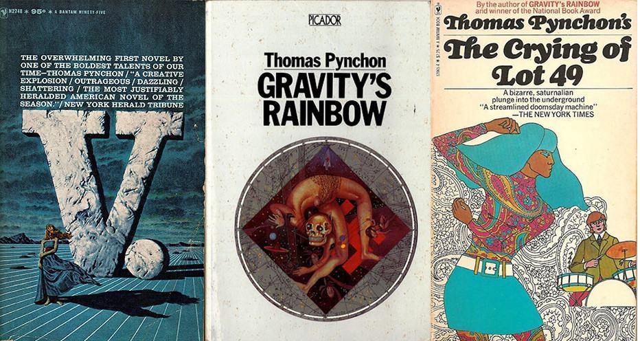 Một số tác phẩm của thomas Pynchon.