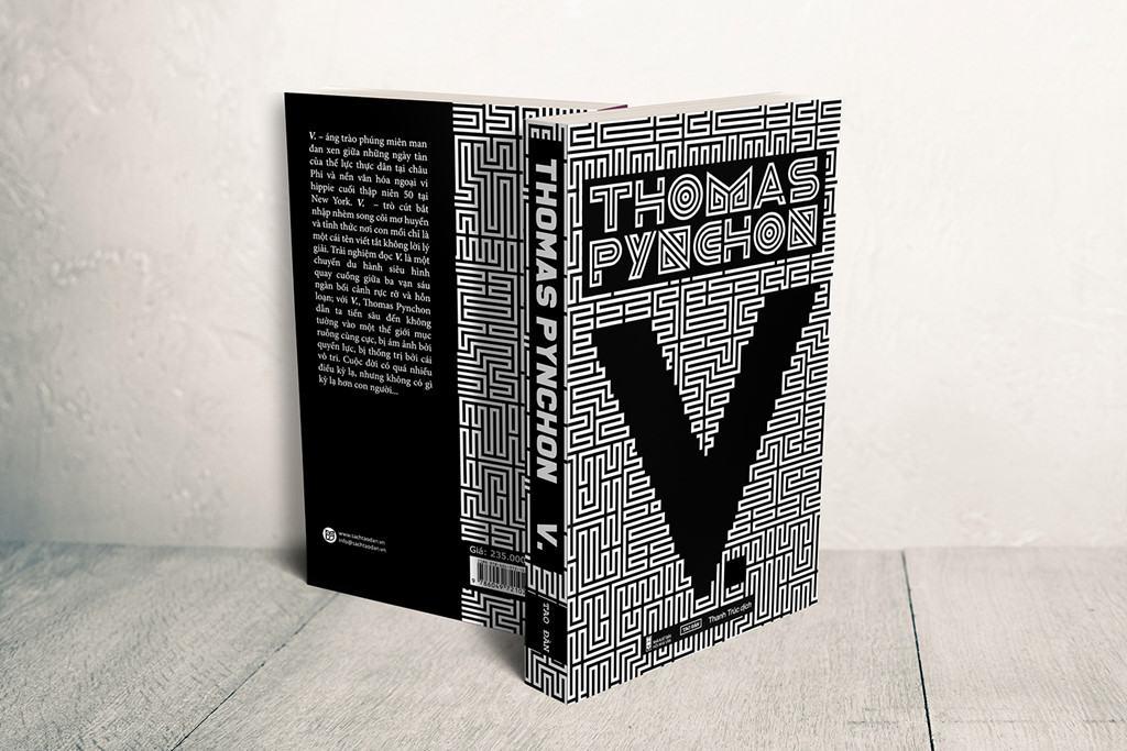 V. - tiểu thuyết của Thomas Pynchon sẽ được NXB Hội Nhà Văn và Tao Đàn phát hành đầu tháng 9.
