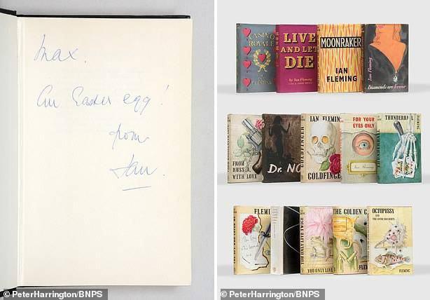 """Bộ sách hiếm chứa bút tích của """"cha đẻ điệp viên 007"""" ước đạt 14,5 tỷ đồng - 6"""
