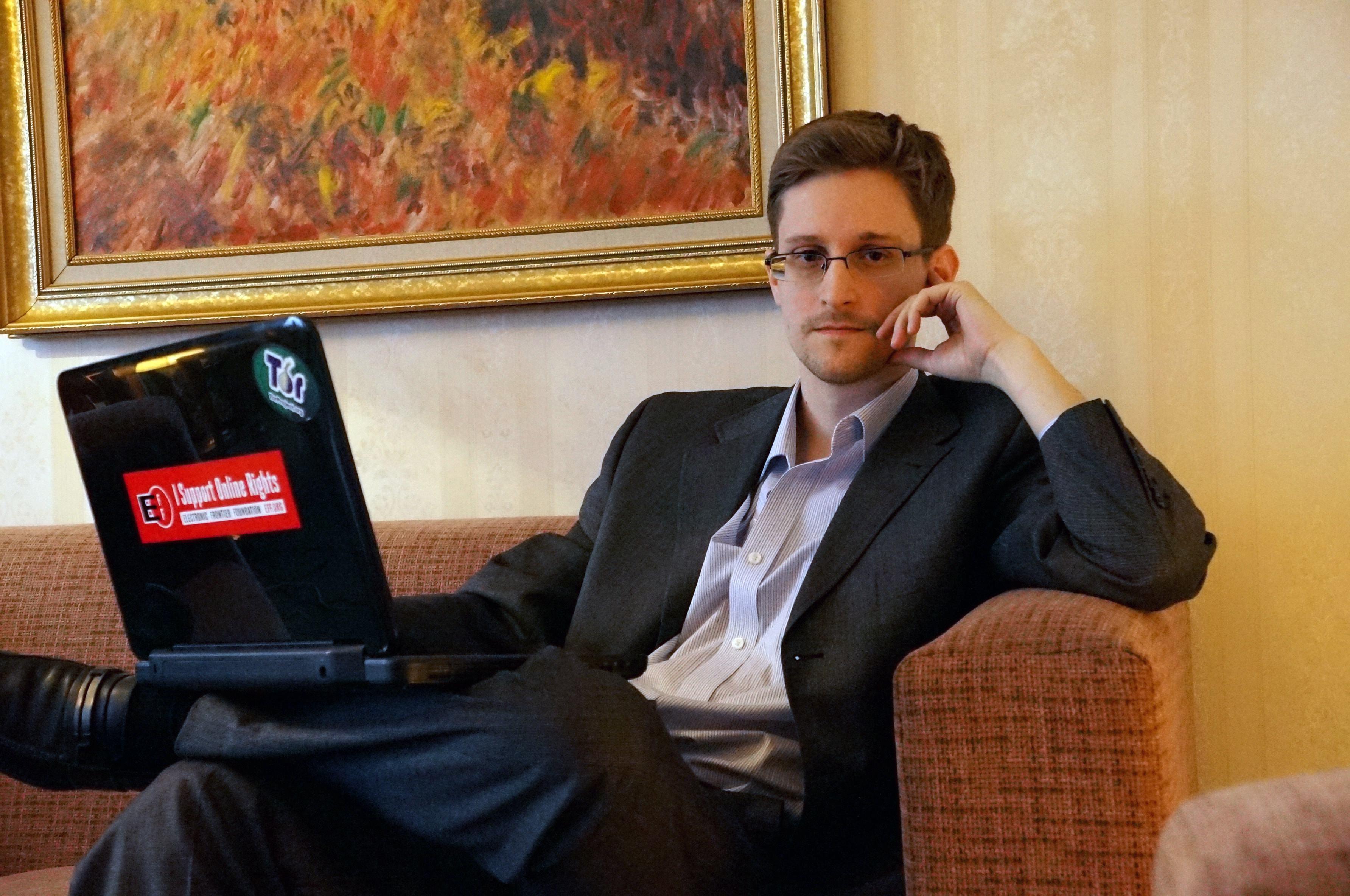 Snowden o Hawaii anh 1