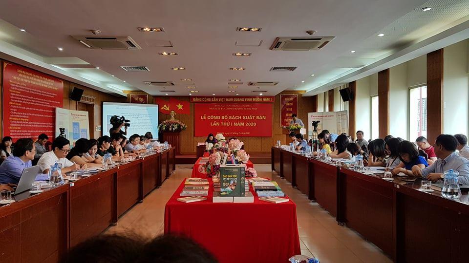 NXB Chính trị quốc gia Sự thật công bố sách xuất bản lần thứ nhất năm 2020 - 1