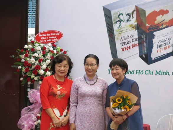Bộ sách 'Nhật ký thời chiến Việt Nam': Nối dài sức sống mãi mãi tuổi 20 - Ảnh 3.