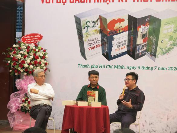 Bộ sách 'Nhật ký thời chiến Việt Nam': Nối dài sức sống mãi mãi tuổi 20 - Ảnh 2.