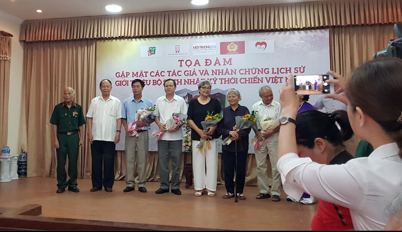 Gặp gỡ tác giả và nhân chứng lịch sử của Nhật ký thời chiến Việt Nam - 1