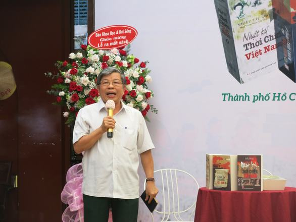 Bộ sách 'Nhật ký thời chiến Việt Nam': Nối dài sức sống mãi mãi tuổi 20 - Ảnh 4.