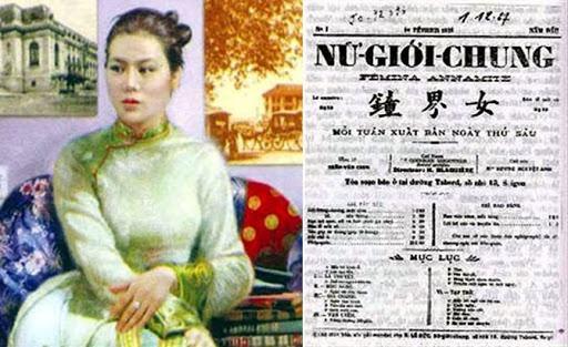 Phu nu Viet Nam anh 1