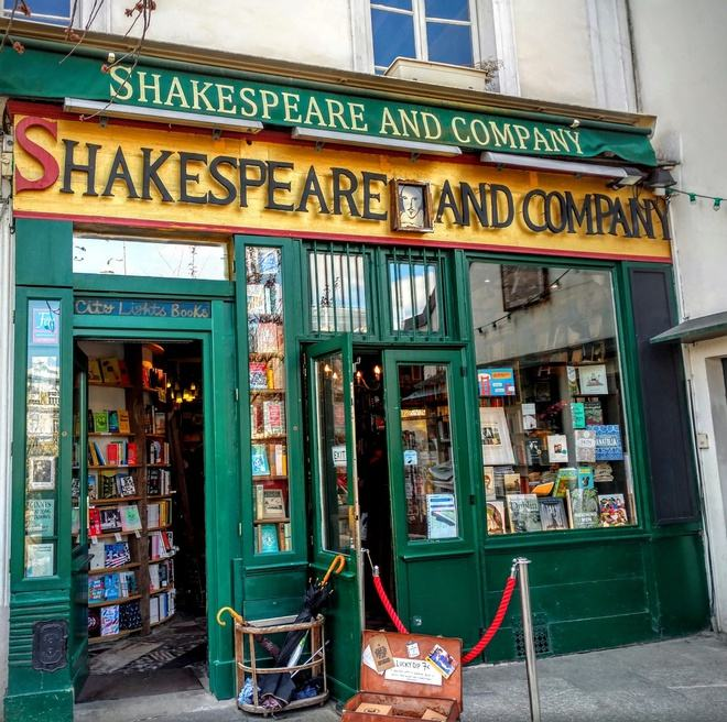 Shakespeare and Company anh 1