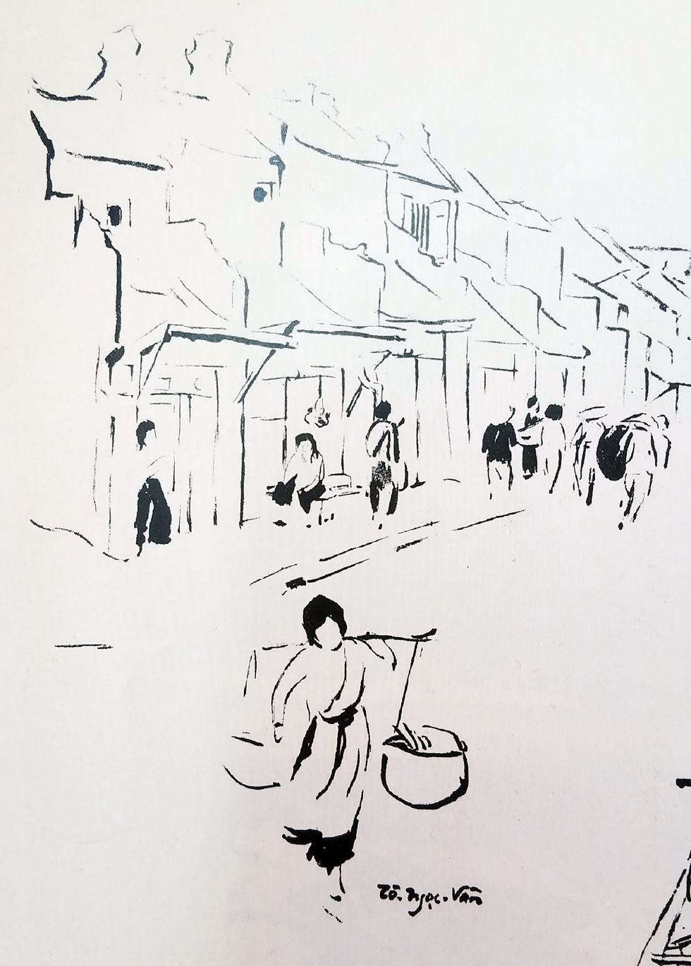 Ngắm hàng rong và nghe tiếng rao hàng trên phố Hà Nội xưa - Ảnh 2.
