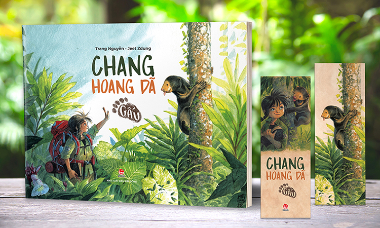 Cuốn Chang hoang dã - Gấu. Ảnh: Kim Đồng.
